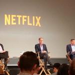 Netflix Pressekonferenz mit CEO Reed Hastings über den Start von Netflix in 130 Ländern gleichzeitig