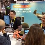 Powerup aus Isreal baut Papierfliegerdronen mit Video-Live-Stream