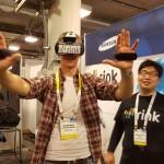 Rink aus Südkorea ist ein Spin Off der Samsung Creative Labs und baut Motion-Contoller für Samsungs Gear VR Headset